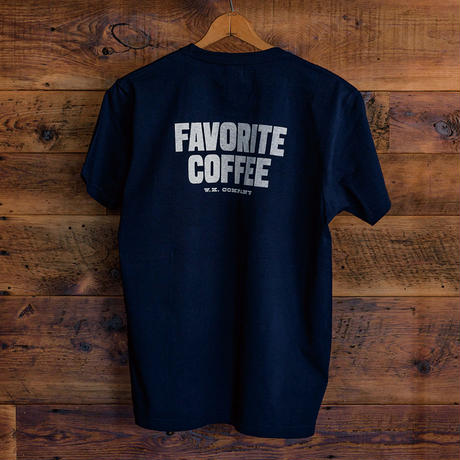 FAVORITE COFFEE T-SHIRT (NAVY)