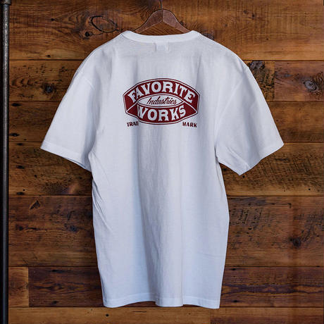 FAVORITE WORKS T-SHIRT (WHITE)