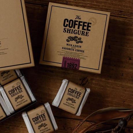 コーヒーしぐれ (4P BOX)
