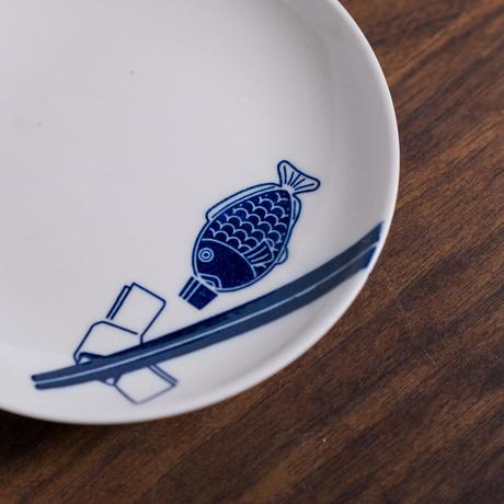 箸と醤油鯛
