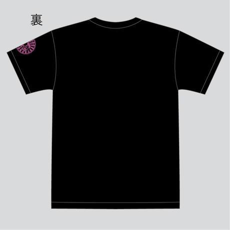 FBM高機能TシャツBlack×Pink