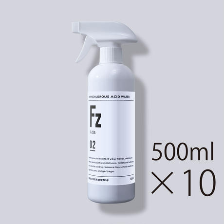 Fz (エフ・ジア)500ml White 10本セット