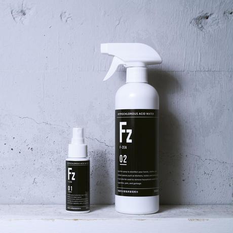 FZ (エフ・ジア)60ml+500ml Black 2本セット