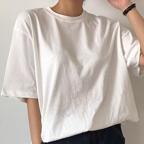 Loose Slit T shirt
