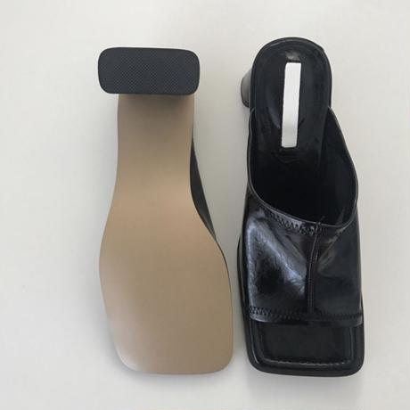 Square Sandal (4Color)