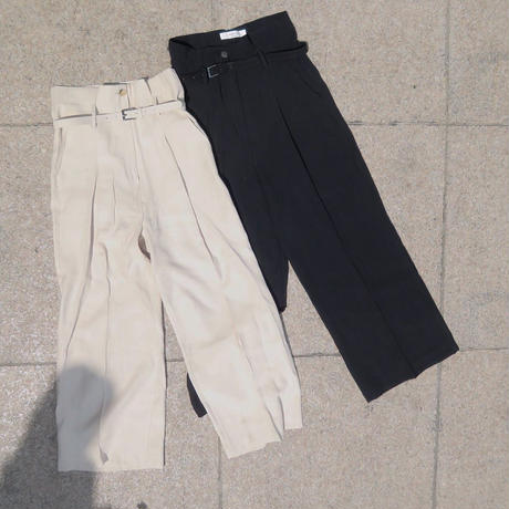 <数量限定再入荷>belt widepants