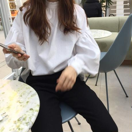 halfturtle cotton blouse