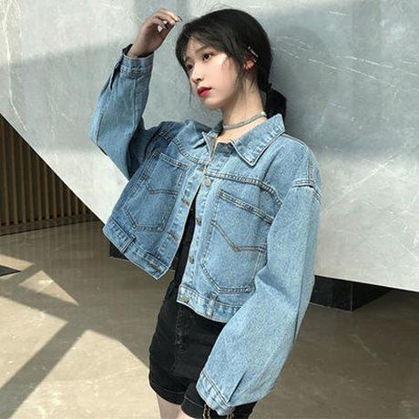 春 女性服 新しいデザイン デニム衣類 ジャケット シャツ トップス 韓国風 気質 ルー