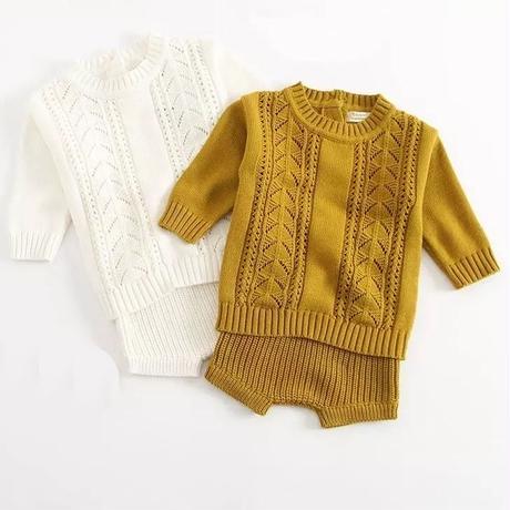《取寄せ》baby knit setup