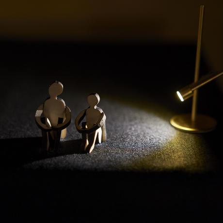 spotlight  [s]  クリップ式・真鍮 【次回4/4発送分 予約販売中】