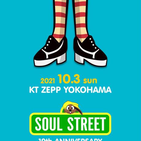 SOUL STREET 19th Anniversary Tee(BLK)