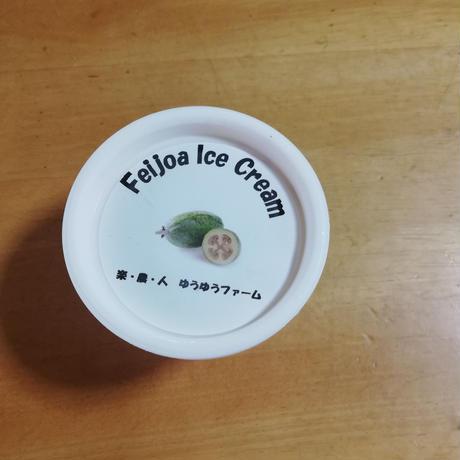 フェイジョアのアイスクリーム
