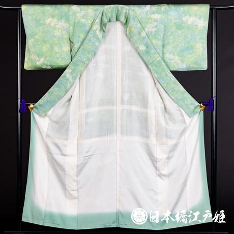 0131 小紋 Aランク美品 正絹 袷 身丈154cm