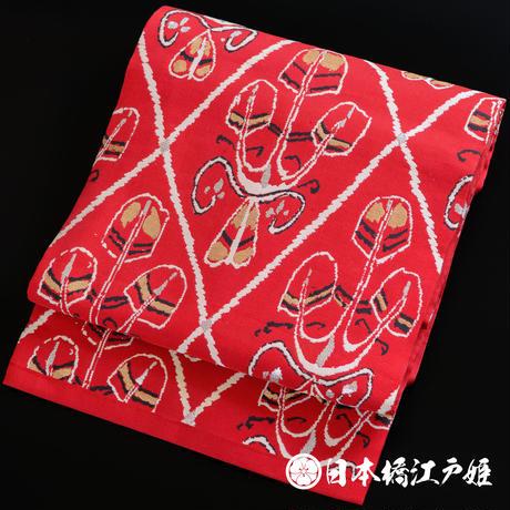 0012  美品 名古屋帯 正絹