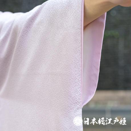 0351 付け下げ 名品 Aランク美品 正絹 袷 薄紫 草花 棗 金糸 刺繍 身丈155cm