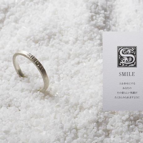 KOTONOHA  リング(S)「SMILE」メッセージカード付き