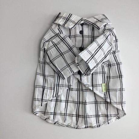 ブロックチェックシャツ 5号