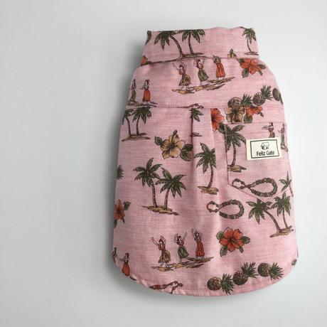 オーガニックコットンアロハシャツ