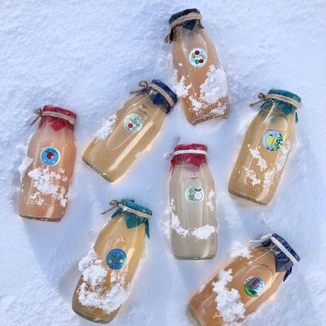 無添加りんごジュース 180ml × 9本入(7種類)