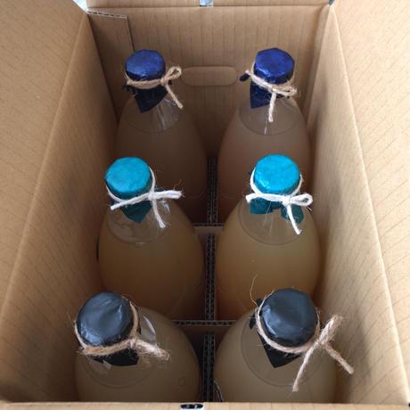 無添加りんごジュース 1000ml×6本(3種類×各2本)
