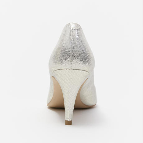 PLAIN POINTED PUMPS - GOLD