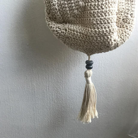 Shikica  cotton knit bag