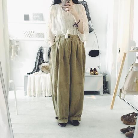 HARVESTY  circus  pants  , corduroy  サイズ 2