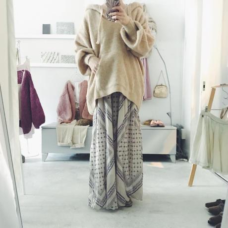 KiiRA アルパカ knit パーカー