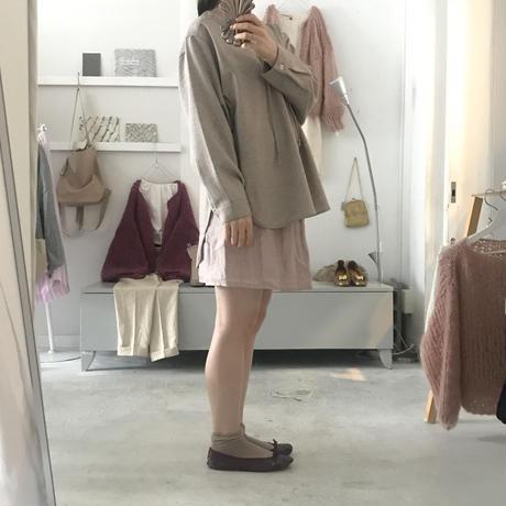 kiira herringbone pullover blouse