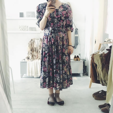 used floral one-piece