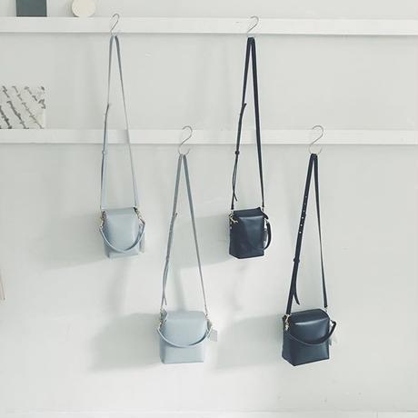 stitchandsew leather shoulder bag  , small   size