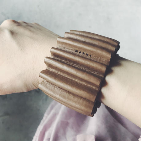 used  MARNI  leather bangle