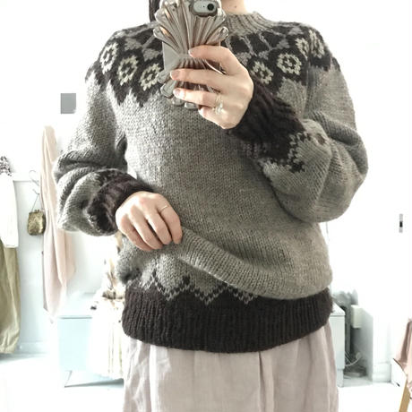 used nordic sweater