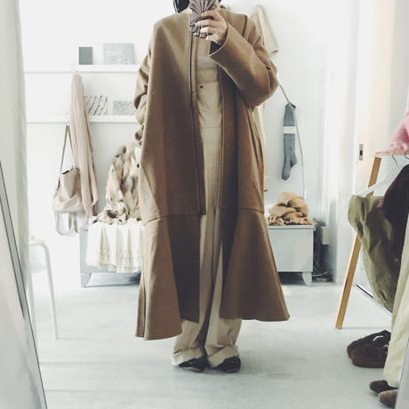 NATSUMI ZAMA  Mona Lisa long coat