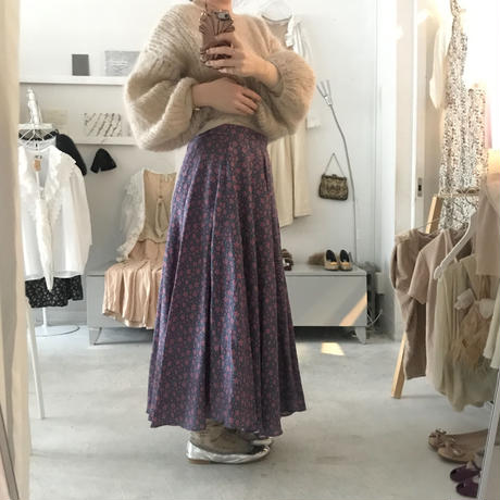 Omas Hande MIL FLORES FLARE SKIRT