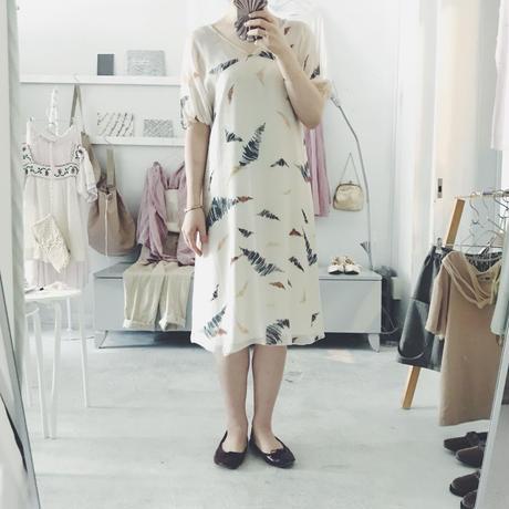 used Kristina Ti  シルク ワンピース