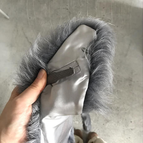 used  fake fur tippet