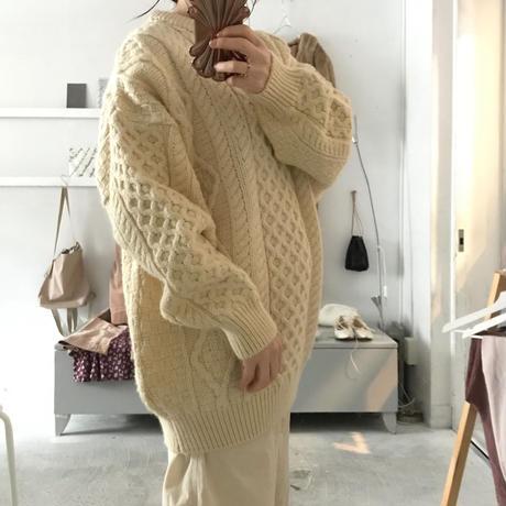 used aran knit