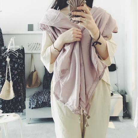 femme robe オリジナル cotton stole