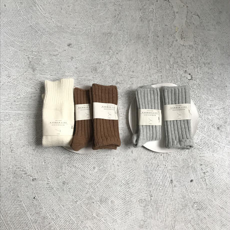 KARMAN LINE wool nylon socks