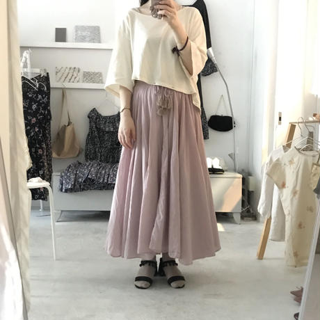 femme robe オリジナル cotton gather  skirt