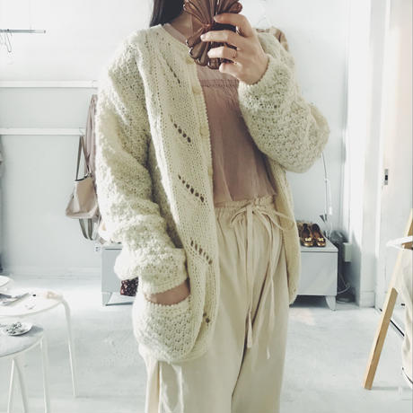 used knit cardigan
