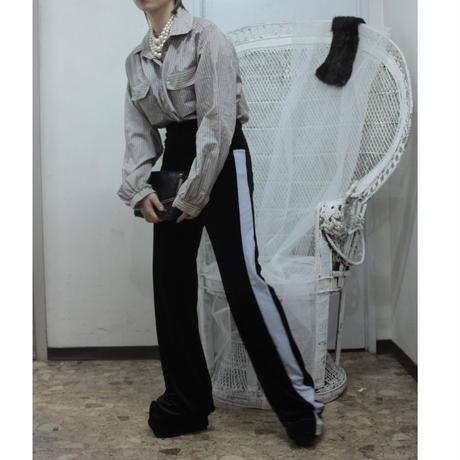 velor pants