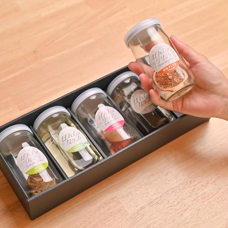 【お酒とセットのギフトBOX】ぽんしゅグリア3本+ぽんしゅカップ酒2本の合わせて5本ギフトセット