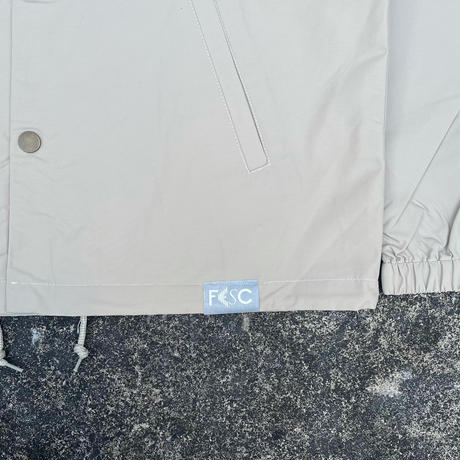 """FESC """"F-LOGO""""HOODED COACH JACKET[2COLOR]"""