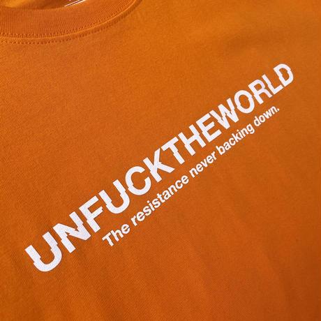 "【NEW ITEM】FESC ""UNFUCKTHEWORLD"" 6.2oz  T-SHIRTS[2color]"