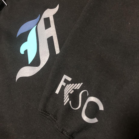 【SUPER TIME SALE/30%OFF】FESC TRICHROMATIC F HOODIE[2COLOR]
