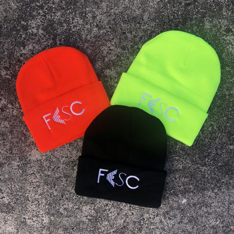 FESC BASIC LOGO KNITCAP[3COLOR]