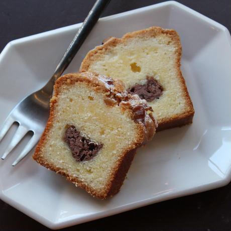 胡桃と自家製あんこのケーキ