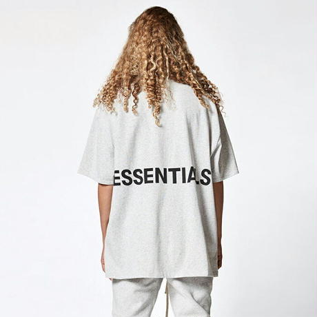 FOG Essentials  Boxy T-shirt  LIGHT HEATHER